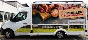 Neue Mobile Fleischerei Fahrzeug