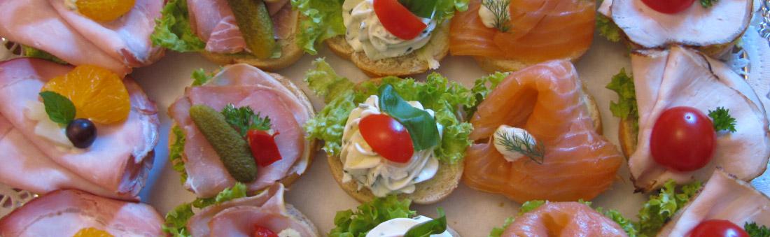 Köstliche Kleinigkeiten für Ihre Party